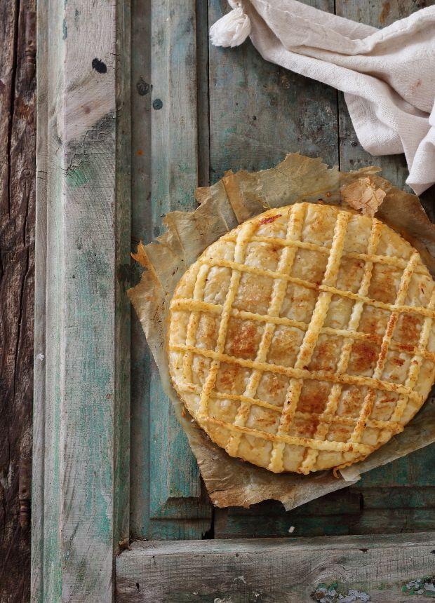 Mi Gran Diversión: Empanada de hojaldre con carne y chorizo