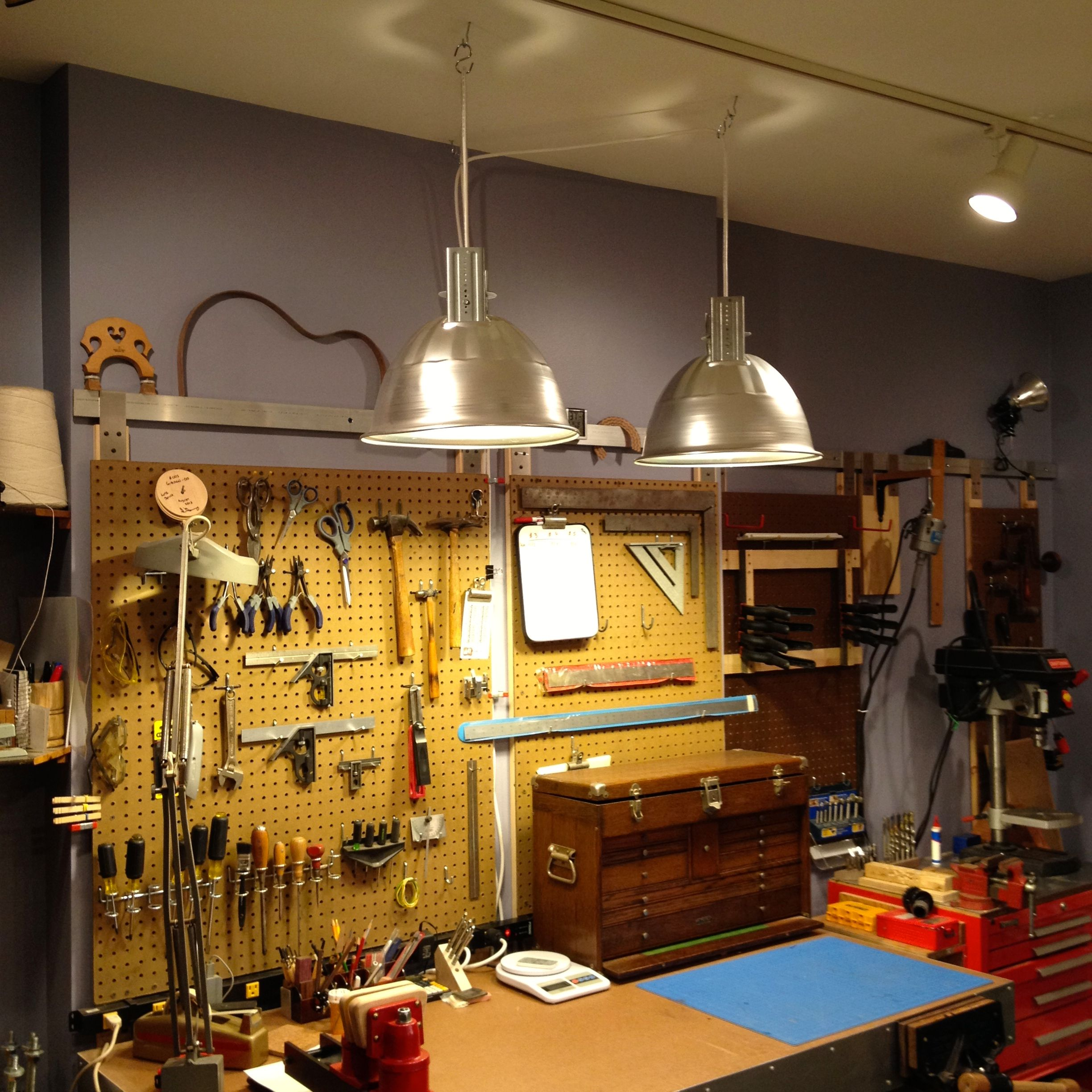now you can get our workshop lighting