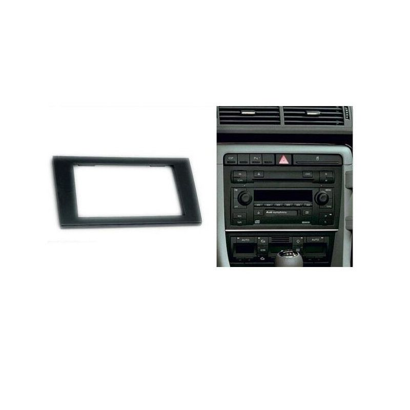 EOS Double Din Car CD Stereo Fitting Kit Fascia For Volkswagen VW Passat Jetta