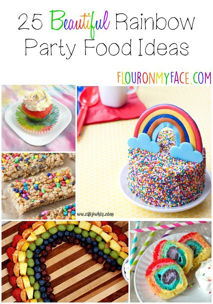 25 Rainbow Party Food Ideas Guaranteed To Put A Smile On The Birthday Boy Or Girl