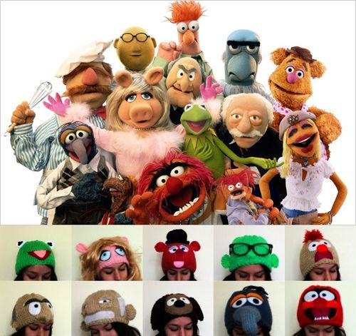 Muppet Hats of theDay