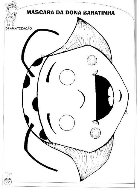 Masker lieveheersbeestje | HORMIGAS | Pinterest | Carnavales ...