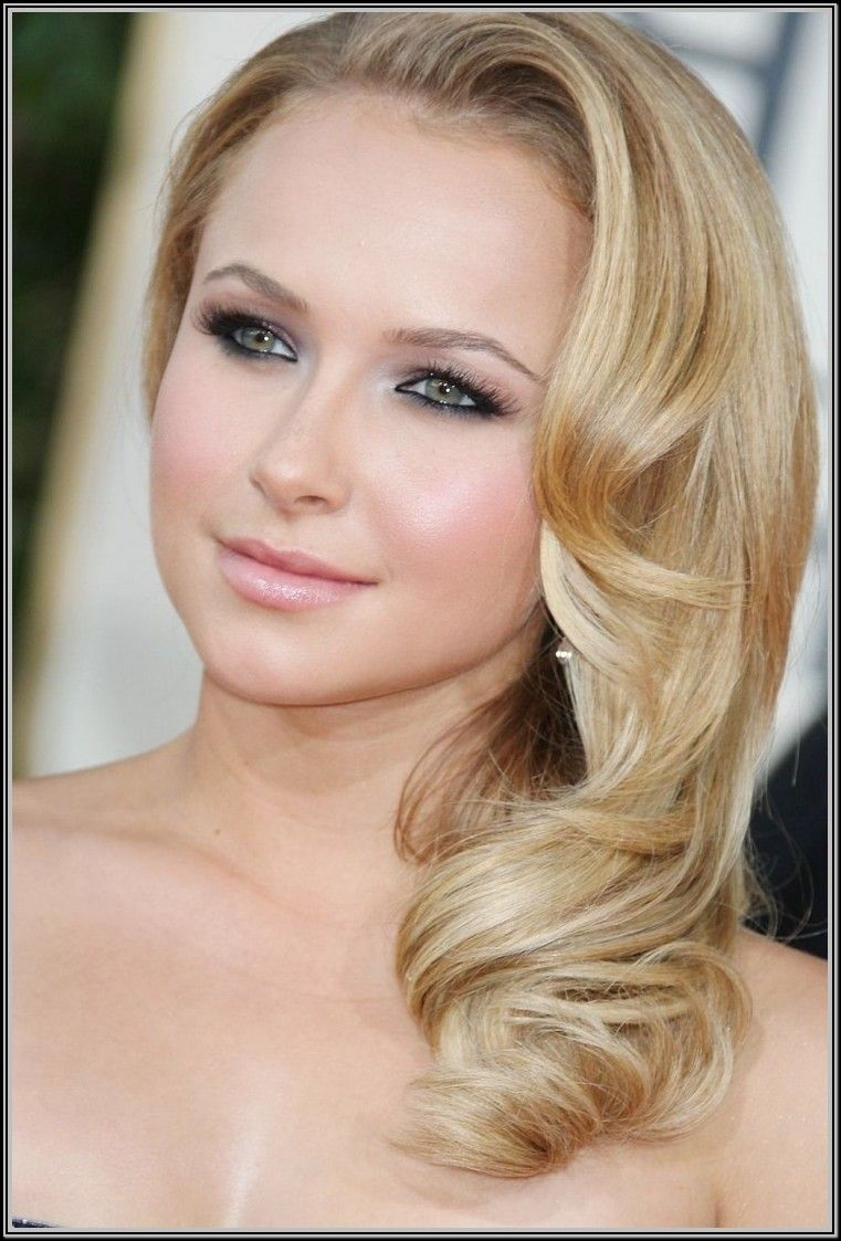 Prom hairstyles side swept google search special occasion