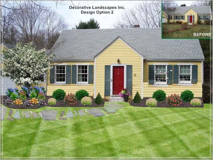 Our Collection Of Garden Landscape Concepts And Plans Make It Easy To Fill Your Entire Lawn