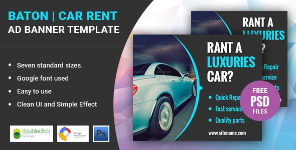 awesome Lobby Travel HTML five Google Banner (Ad Templates - car ad template