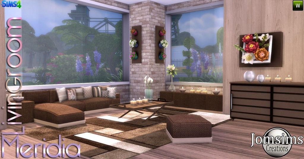 salon sims 4  living room living room sims 4 room