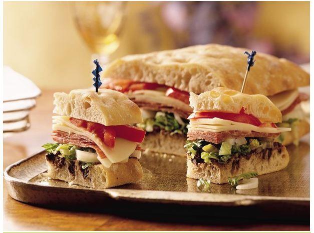 Milano Ciabatta Sandwich .