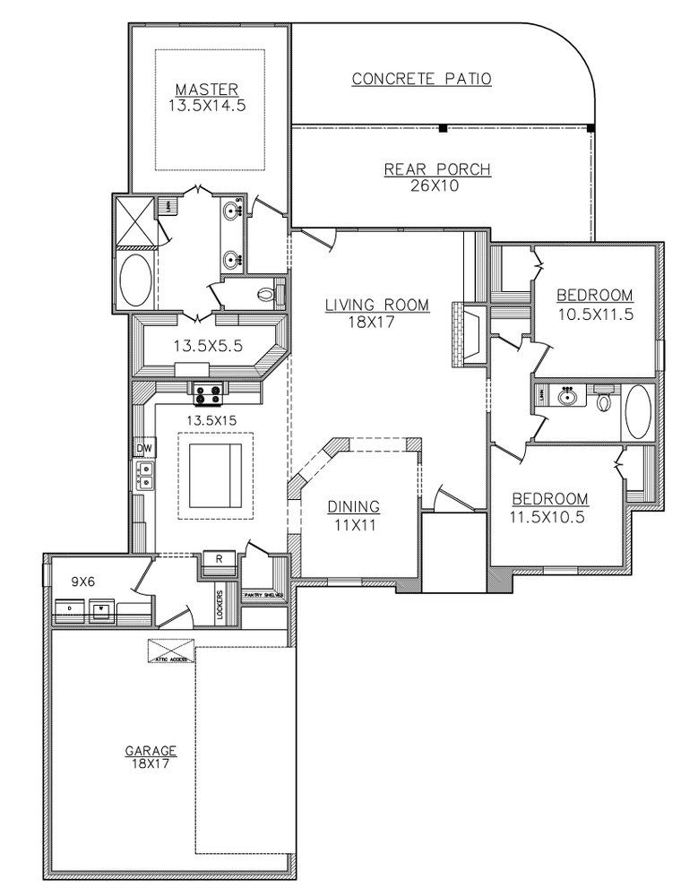 The Flycatcher 1700sf Floor Plans House Plans How To Plan