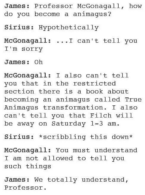 Sirius black spank harry