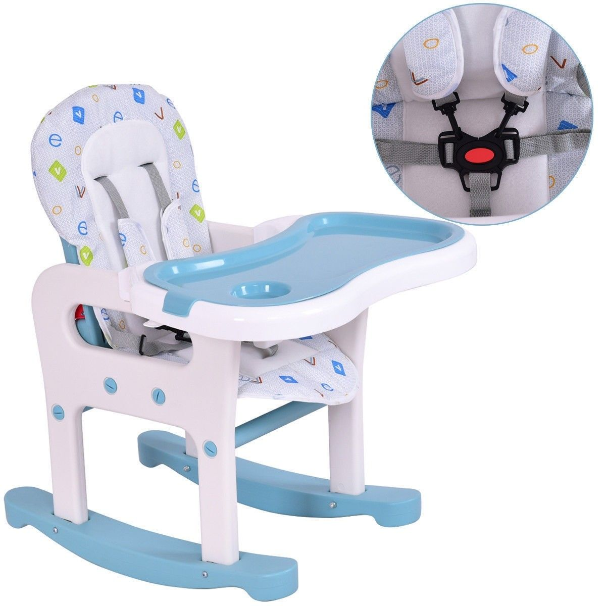 3in1 Baby High Chair Convertible Play Table (With images