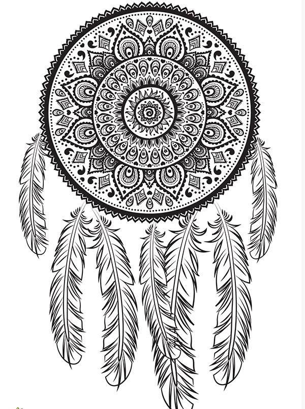 Pin von Amane Habib auf mandala | Pinterest | Traumfänger ...