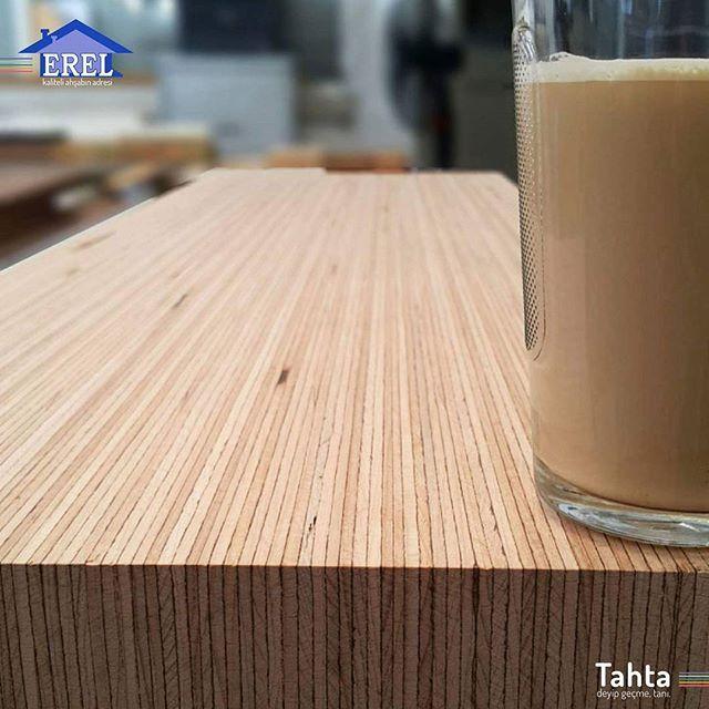 Baubuche Erelcompany Wood Ahsap Panel Beech Kayin Table Detail Cuisine