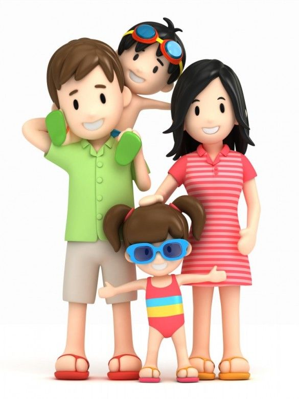 3d happy family 17 summer pinterest happy family 3d and clip art rh pinterest com clip art of families together clipart of family and friends day