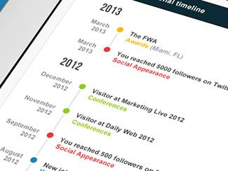 26 cv resume designs that recruiters will love timeline cv