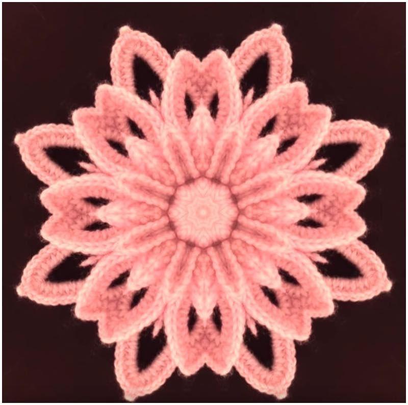 Irish Flower 3D Free Crochet Pattern #irishcrochetflowers Irish Flower 3D Free Crochet Pattern | Pattern Center #irishlacecrochetpattern
