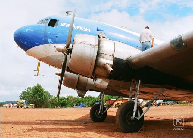 Douglas DC3 of SERVIVENSA (Servicios Aereos Avensa S.A
