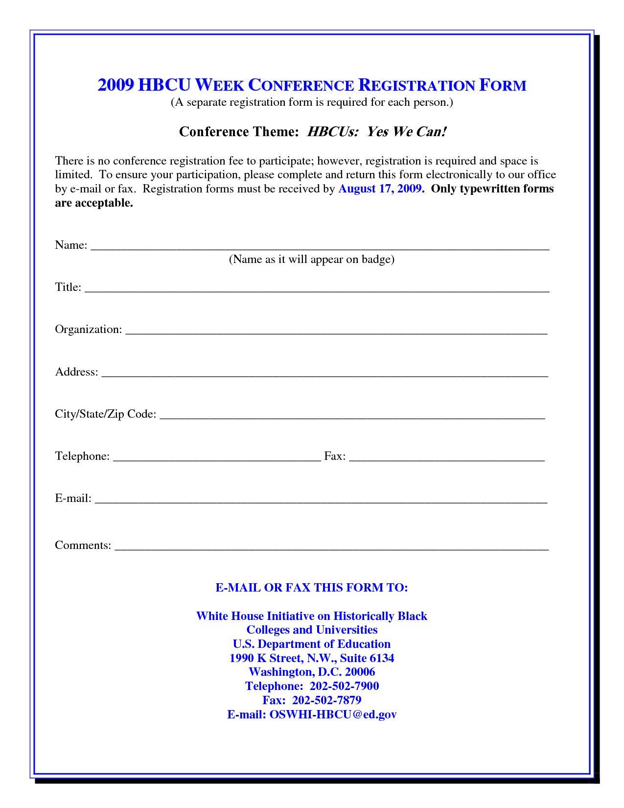 017 Template Ideas Class Registration Form Word 317167 Forms For Seminar Registration Form Template Word Best Sampl Registration Form Word Template Word Form