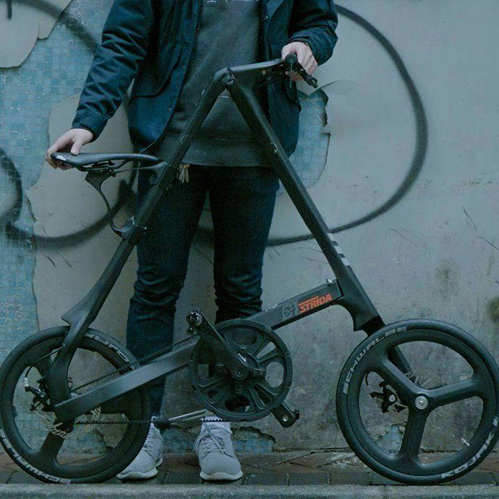Strida C1 Carbon Fiber Folding Bike Bicycle Best Road Bike