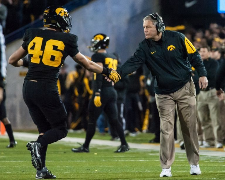 Iowa football five players to watch in spring practices