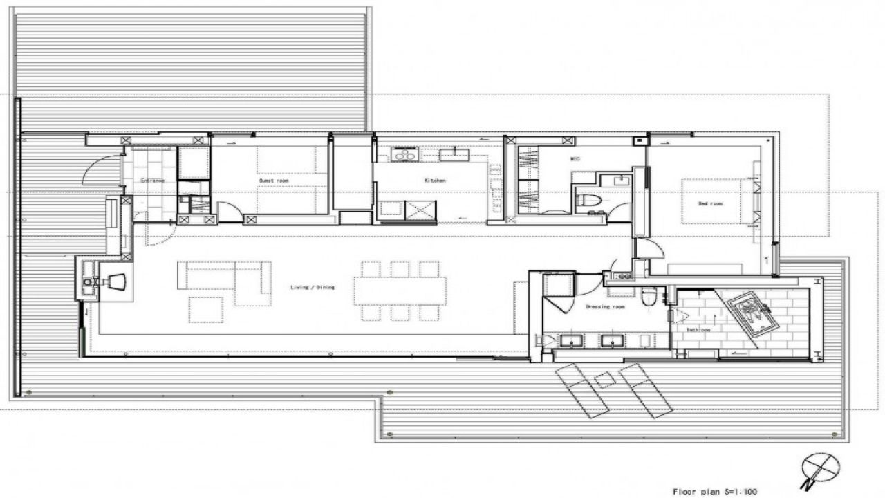 Stilt House Floor Plans Mediterranean Stilts Mexzhouse Beach House Floor Plans Beach House Flooring Floor Plans
