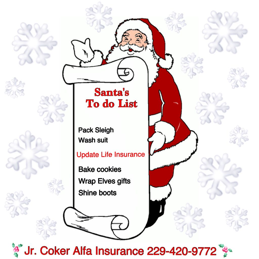 Is Life Insurance on your Christmas list? If it's not it