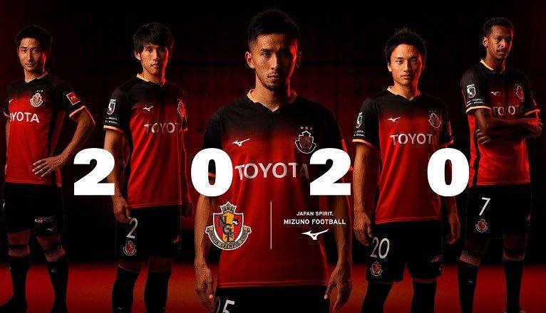 Nagoya Grampus 2020 Mizuno Home Kit Football Fashion Nagoya Grampus Mizuno Nagoya