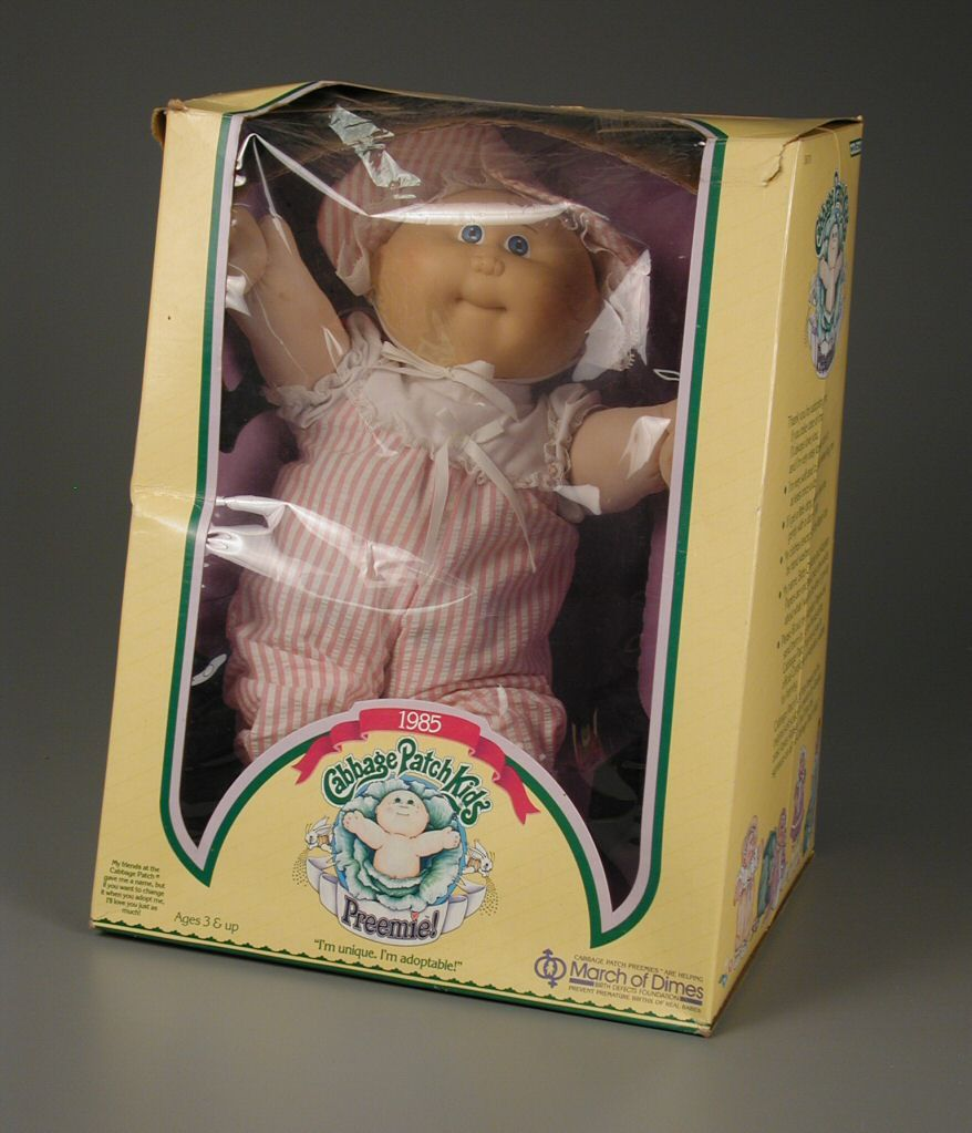 106 2749 Cabbage Patch Kids Preemie Baby Doll Dolls From The Seventies And Eighties Dolls Online Collecti Cabbage Patch Kids Sister Dolls Vintage Toys