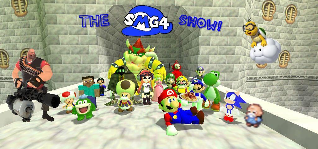 The SMG4 Gang! by DaSlickstanator | Mario/videogames | Fan art, Art