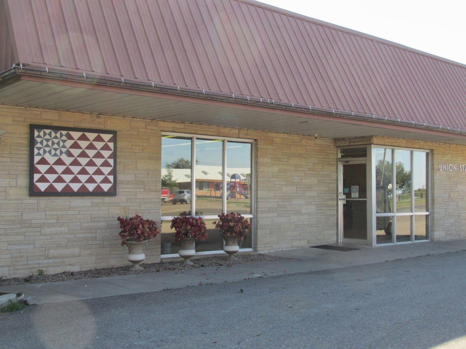 Kansas pottawatomie county fostoria - Kansas Flint Hills Quilt Trail Pottawatomie County Community Union State Bank 204 E Hwy 16 Olsburg Ks 66520 Pinterest Quilt Us States And Ps