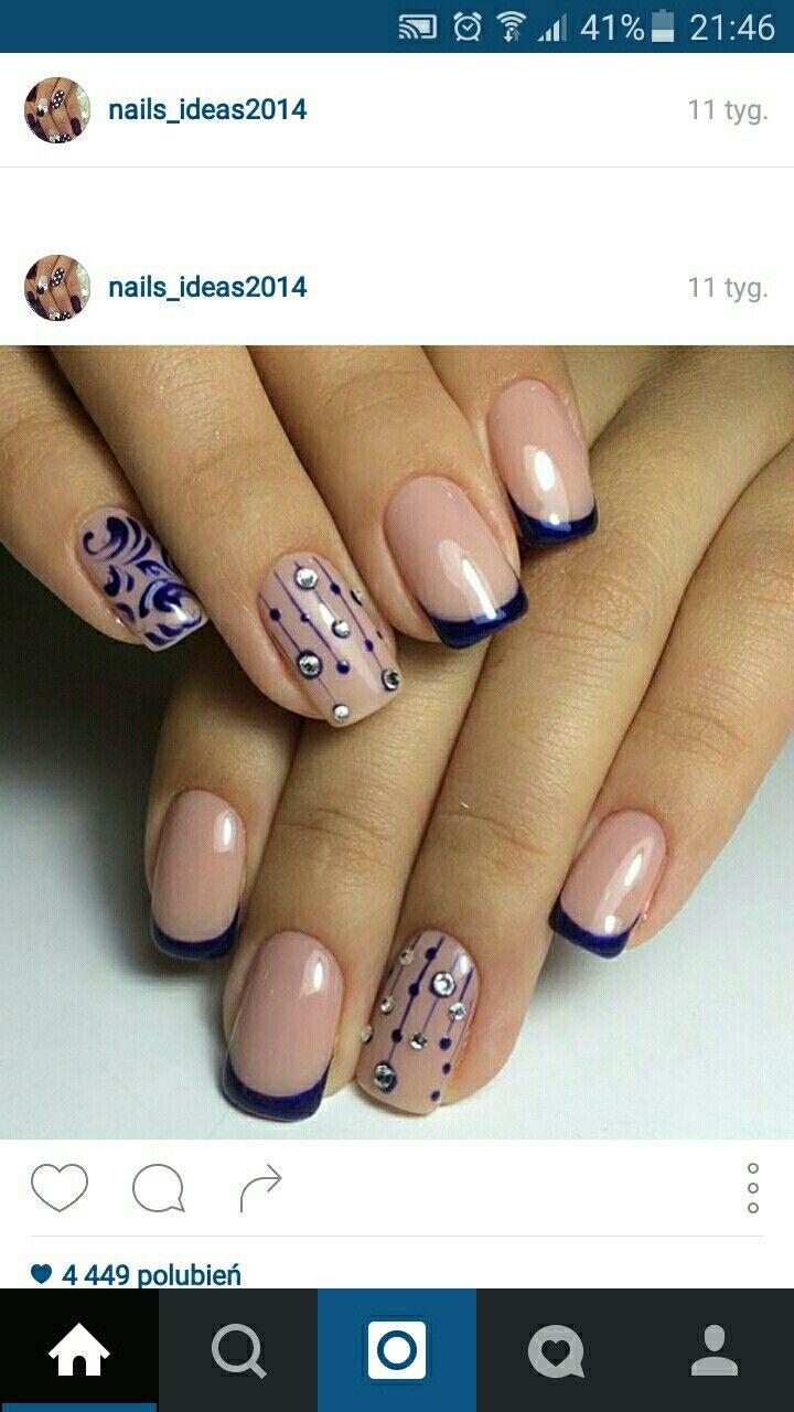 Pin By Joanna Chaas On Pazurkowe Inspiracje Pinterest Manicure