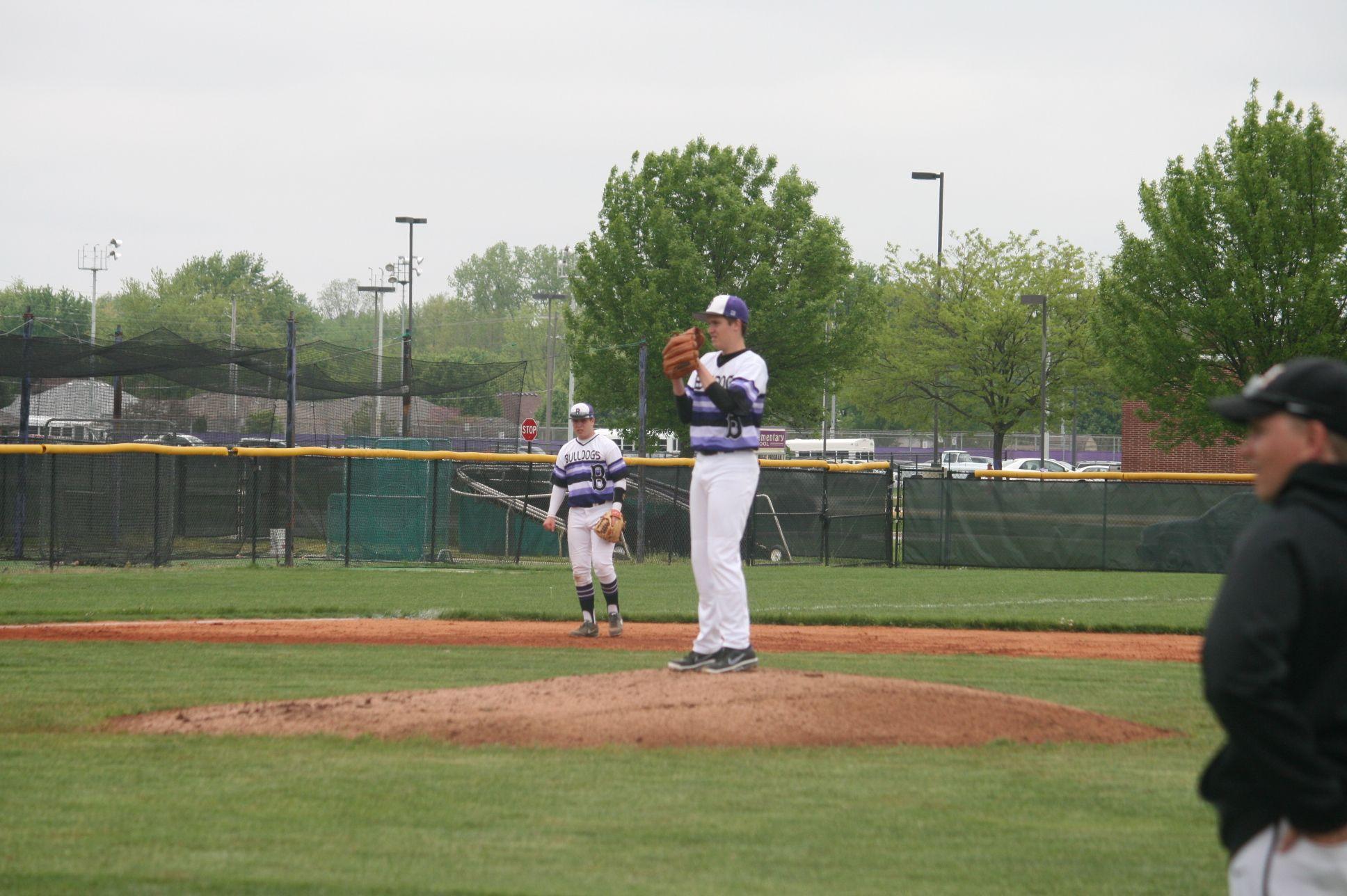 Slick Hs Baseball Purple Sunrise Unis Baseball Field Sports Uniforms Baseball