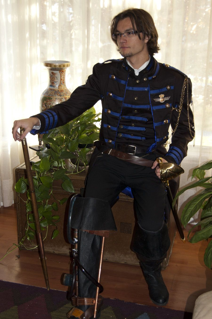 steampunk military uniform | Steampunk Military Command 4 by Kairnth