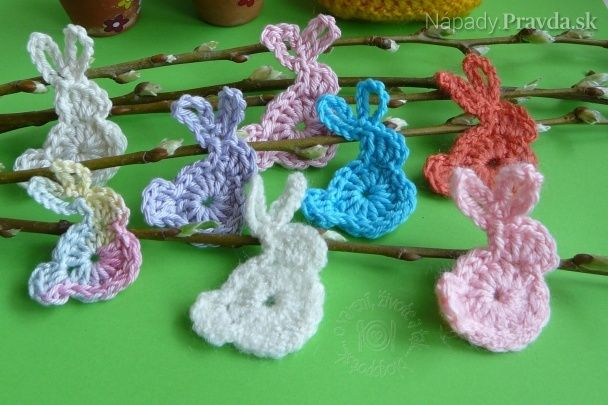 Veľkonoční zajkovia (fotopostup)