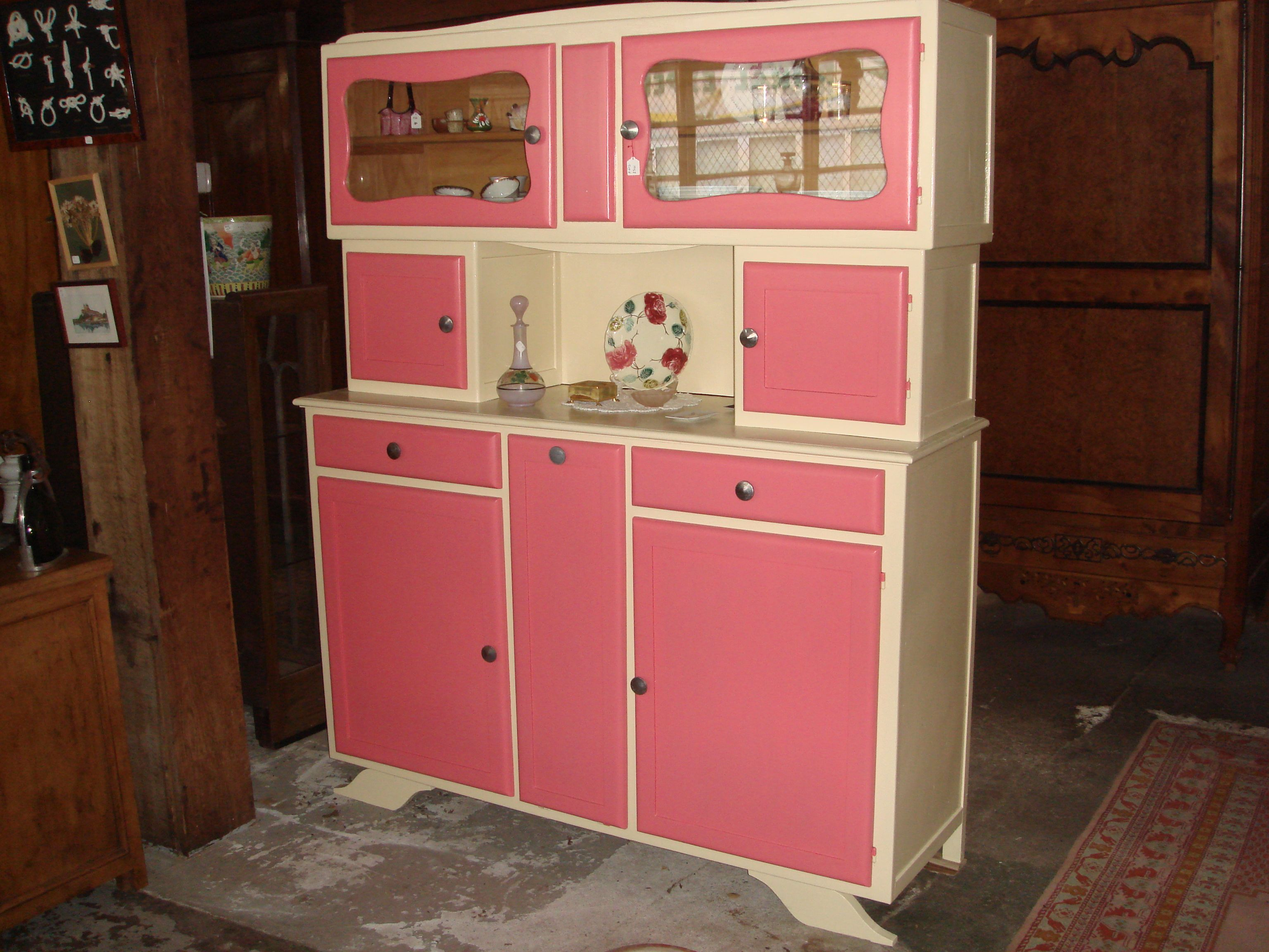 buffet mado rose et blanc Cupboards Part 2 Pinterest