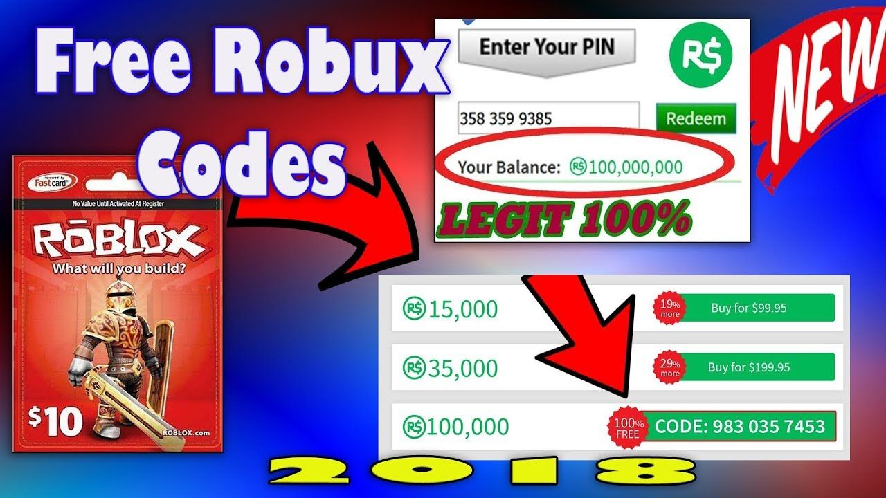 Buy Free Robux Card