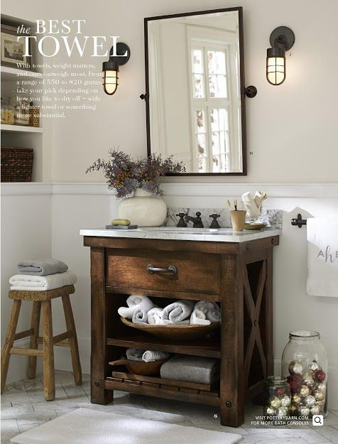 photo the little corner bathrooms barn bathroom pottery barn bathroom bathroom. Black Bedroom Furniture Sets. Home Design Ideas