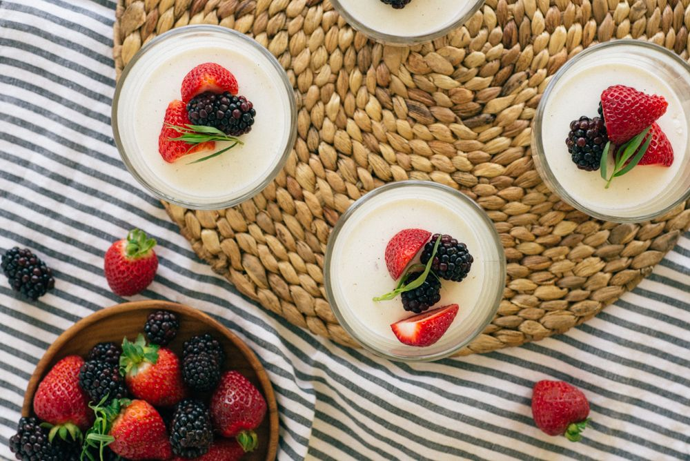 Lavender Panna Cotta | Hatchery - Purveyors of Artisan Ingredients