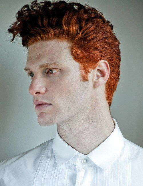 40 Hairstyles For Thick Hair Men S Red Hair Men Red Hair