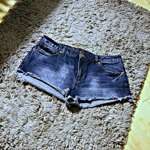 High Waist Jean Shorts These high waist jean shorts are cheeky and flirty; perfect for those summer nights. Delia's Shorts Jean Shorts