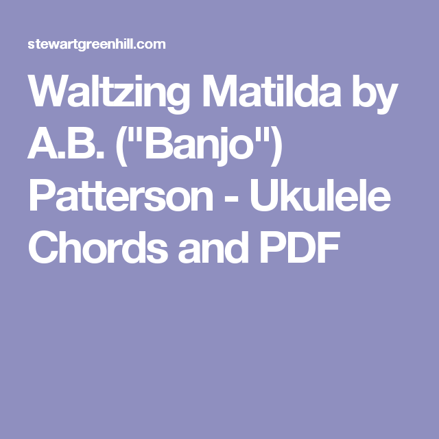 Magnificent Sweet Pea Ukulele Chords Easy Images - Beginner Guitar ...