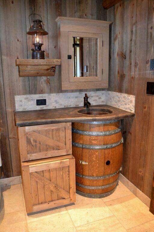 Cool Bathroom Rustic Bathrooms Rustic Bathroom Designs Cabin