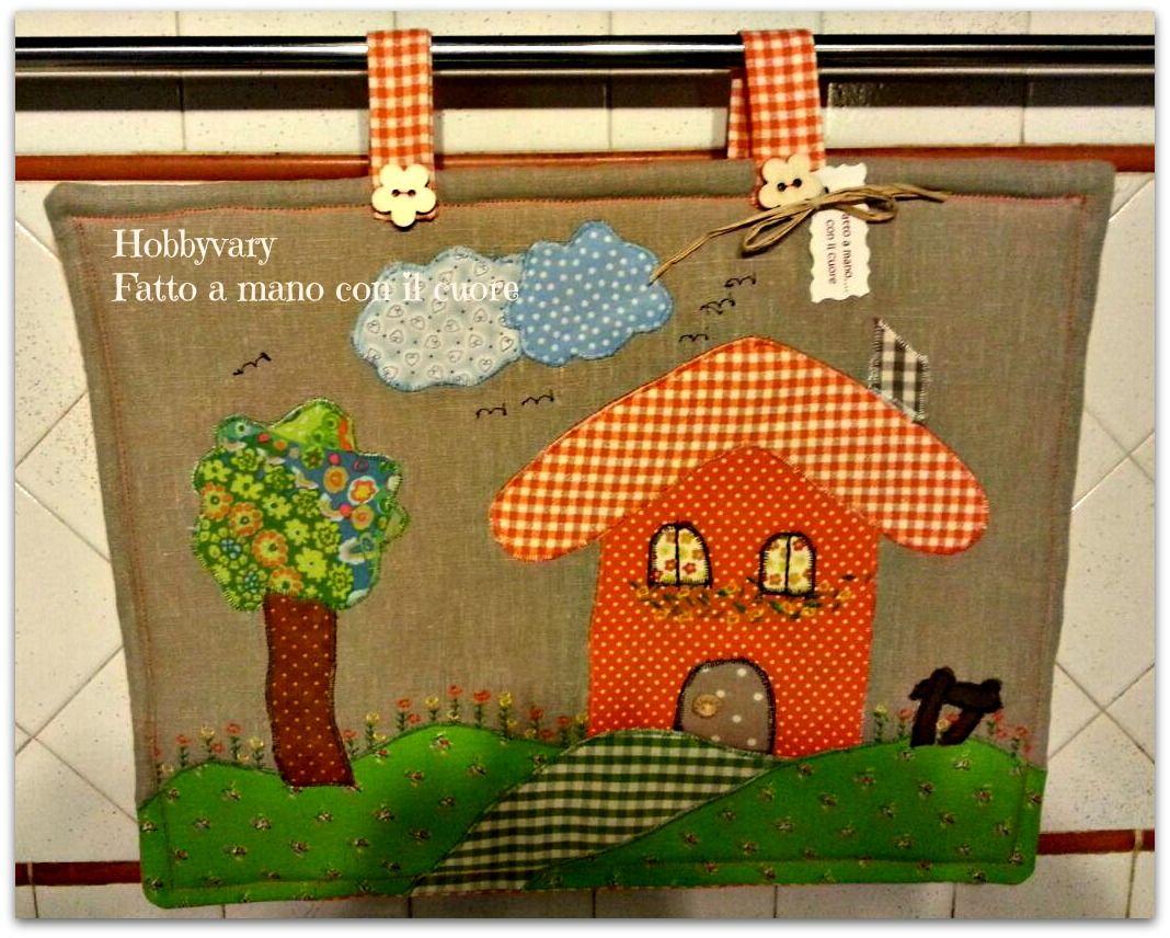 Angeli di pezza corso di scatole di stoffa con mini appliqué