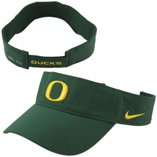 e128742574889 Nike Oregon Ducks Dri-FIT Stadium Adjustable Performance Visor - Green