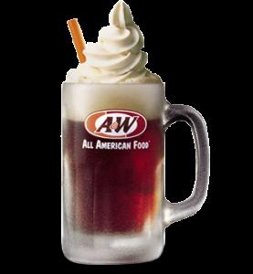 A W Restaurant Freebie Free Root Beer Float On August 6 All American Food Root Beer Float Root Beer