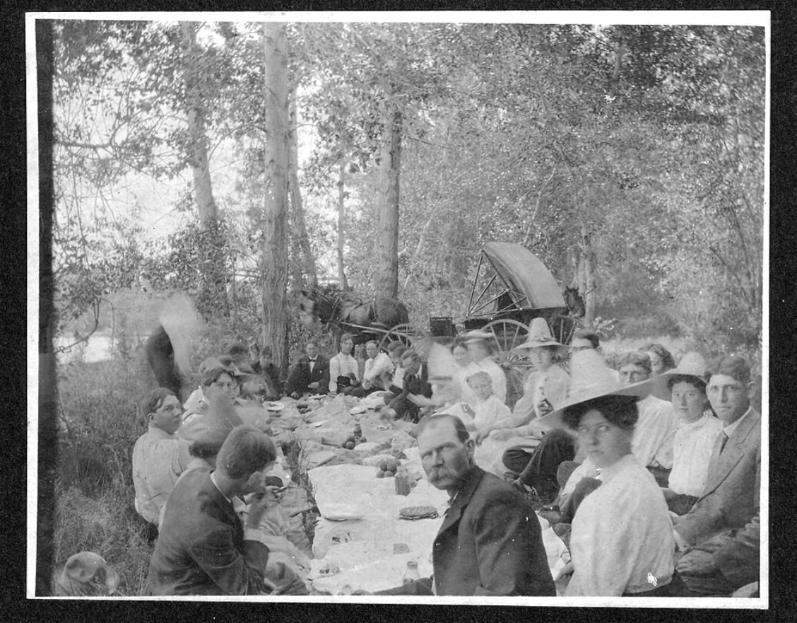 vintage church picnic | Vintage Picnic | Church picnic