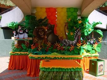 Ideas De Fiesta Madagascar Hola Necesito Ideas Para