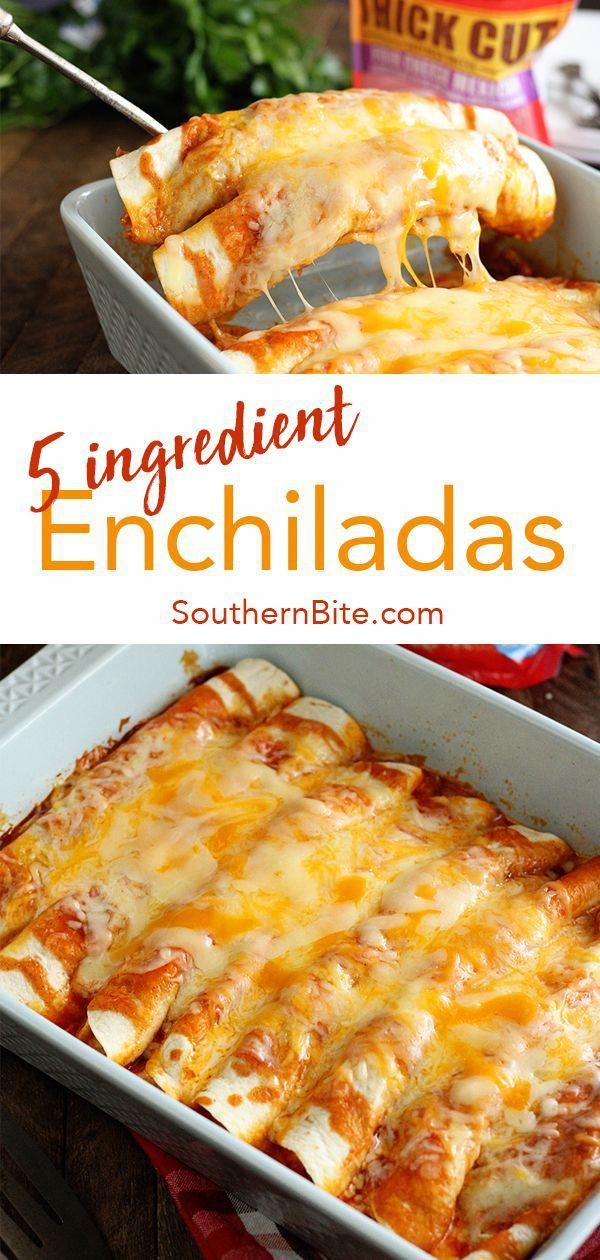5 Ingredient Beef Enchiladas - Southern Bite