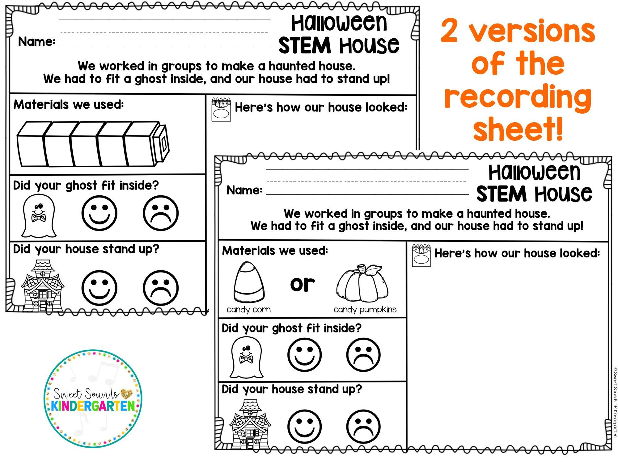 Halloween Stem Freebie With Images