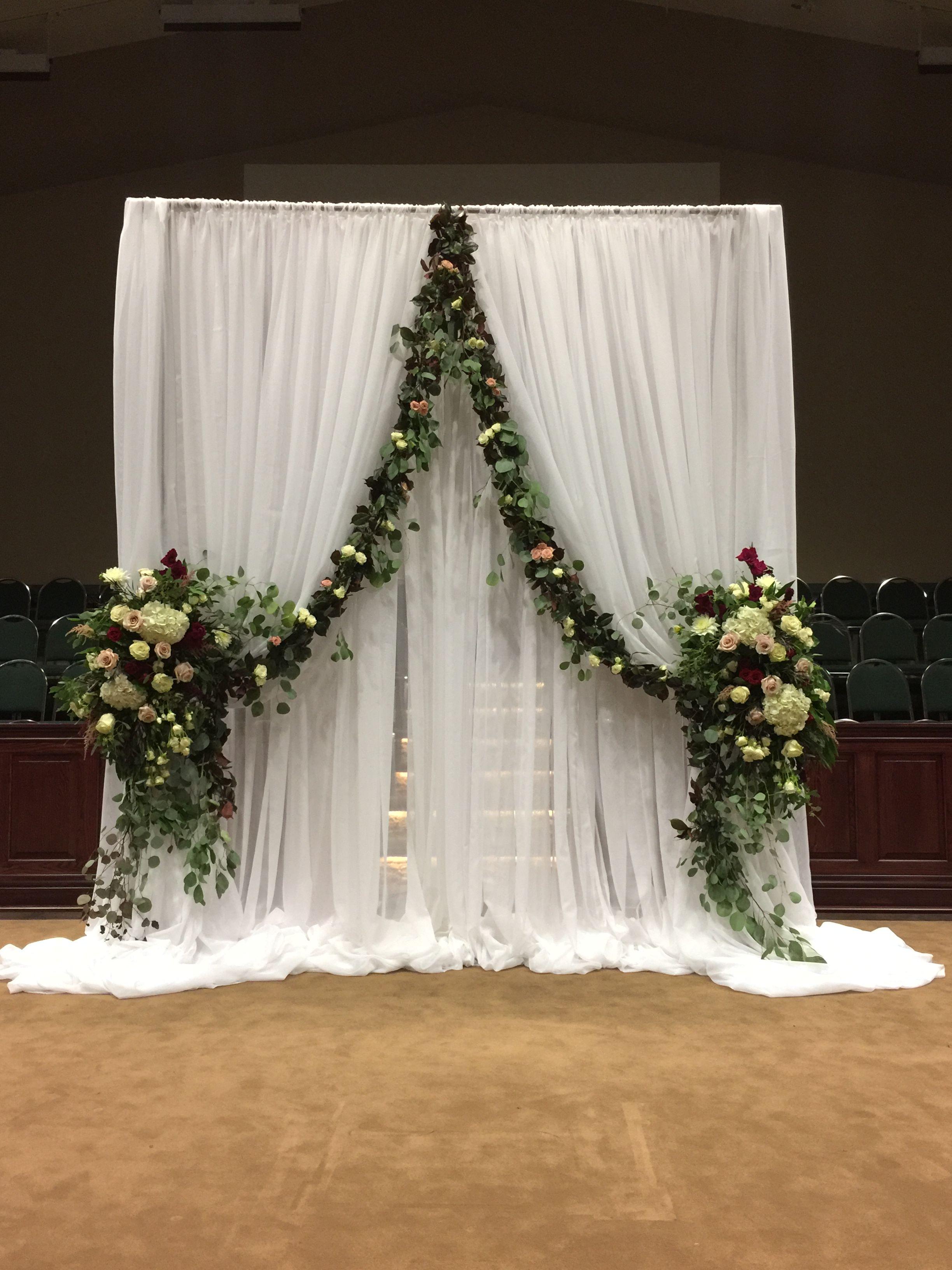 Ceremony Decor Church Wedding Decorations Diy Wedding Backdrop