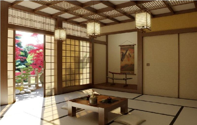 Japanese Living Room For Balance Decors  Japanese Influenced Classy Japanese Living Room Design Ideas